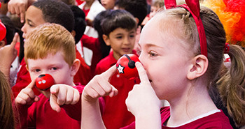 The Red School Goes Red for Comic Relief