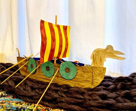 Erin Ruggles 4B Viking Longship